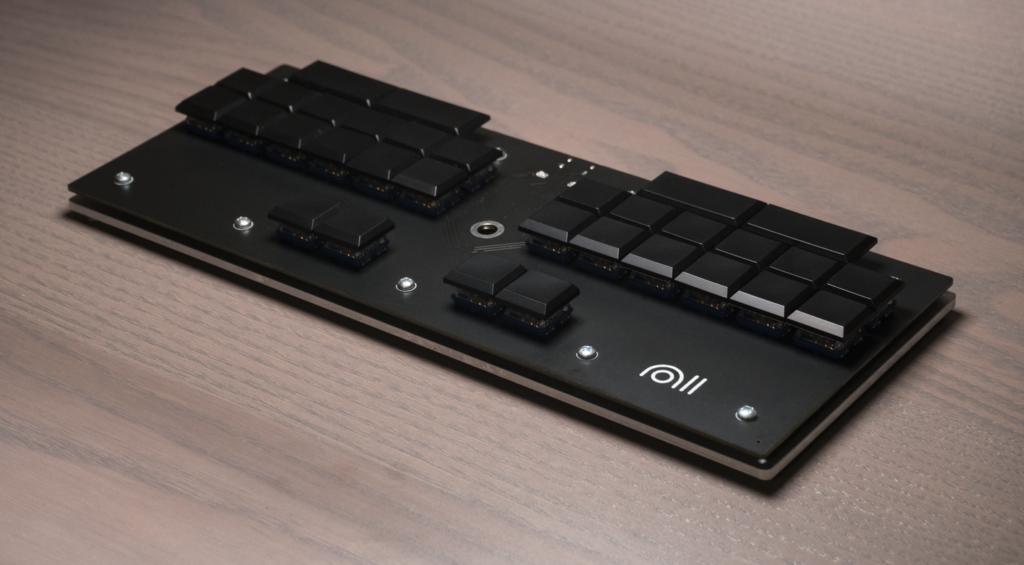 Noll Electronics Steno Keyboard Production Prototype